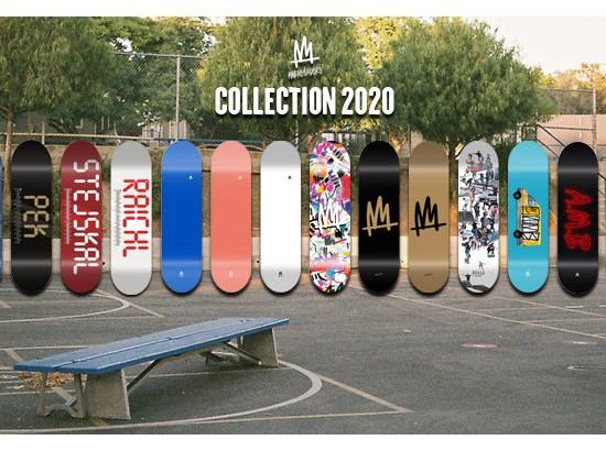 Kompletní skateboardy od české značky Ambassador