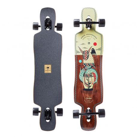 Arbor Dropcruiser Artist Collection 'Hablak' 38 - longboard