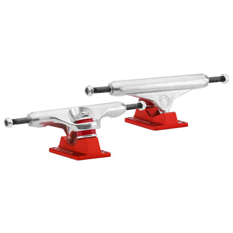 Longboard truck Caliber Caliber raw/satin red - 150 mm, 50° - longboard treky