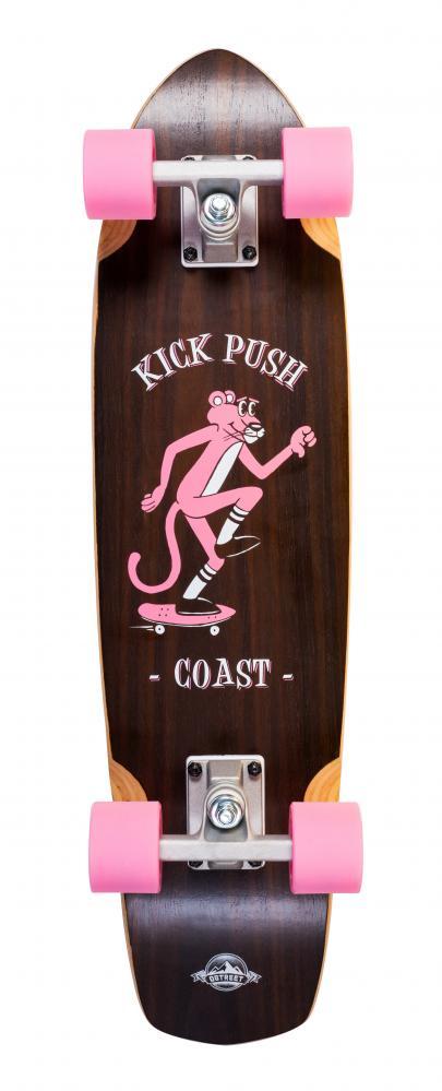 Dstreet Esarol pink panther - cruiser skate komplet