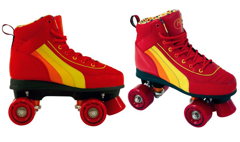 Rio Roller Red dětské trekové brusle (salsa)