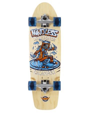 Mindless Calamari V2 - cruiser mini longboard (natural)