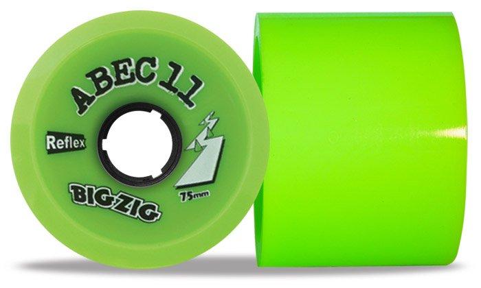 ABEC 11 BIGZIGZ 75mm - kolečka pro longboard