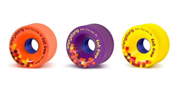 Orangatang - Fat Free 65 mm