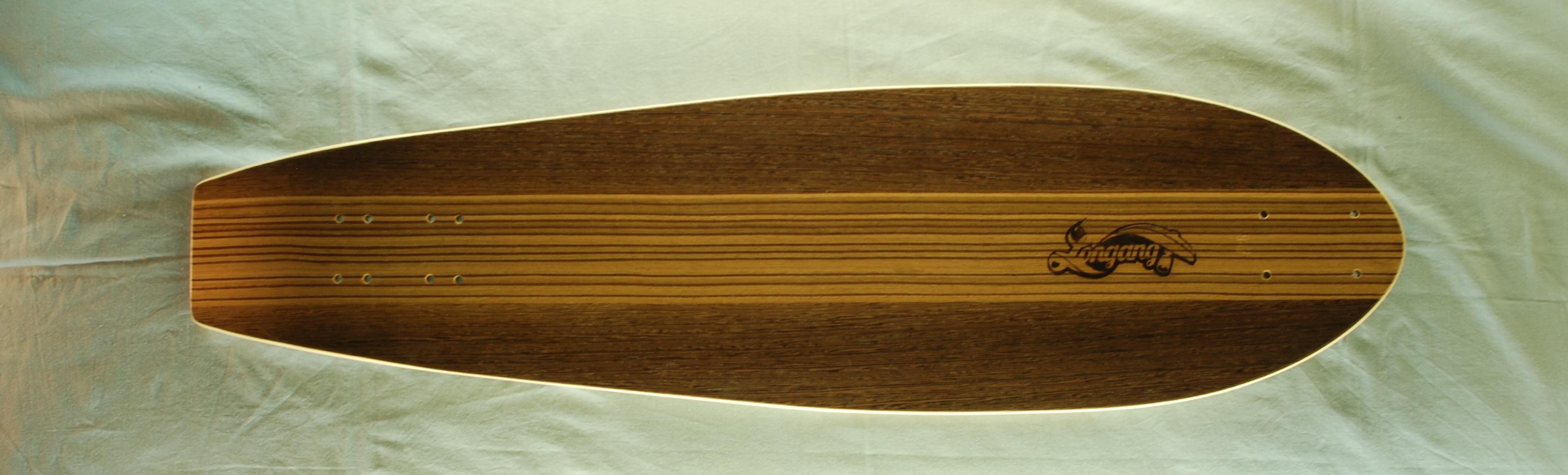 Longang side by side cruiser - longboard deska