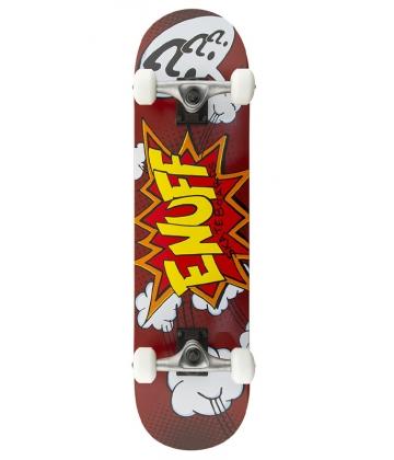 Enuff Pow Completes - Red - skateboard komplet