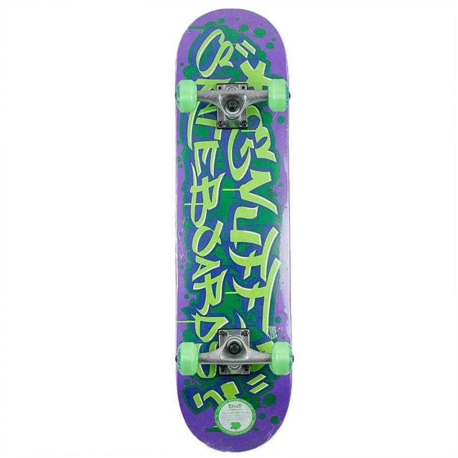 Enuff Graffiti Completes - Purple/Green - skateboard komplet