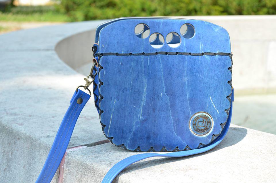 Rest art wear - blue holes - kabelka