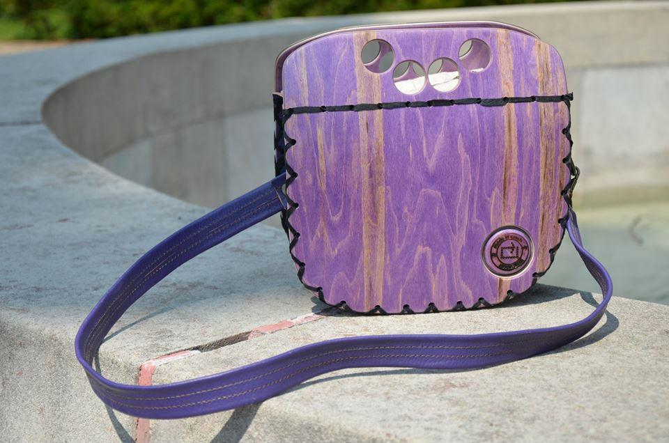 Rest art wear - Purple groove - kabelka