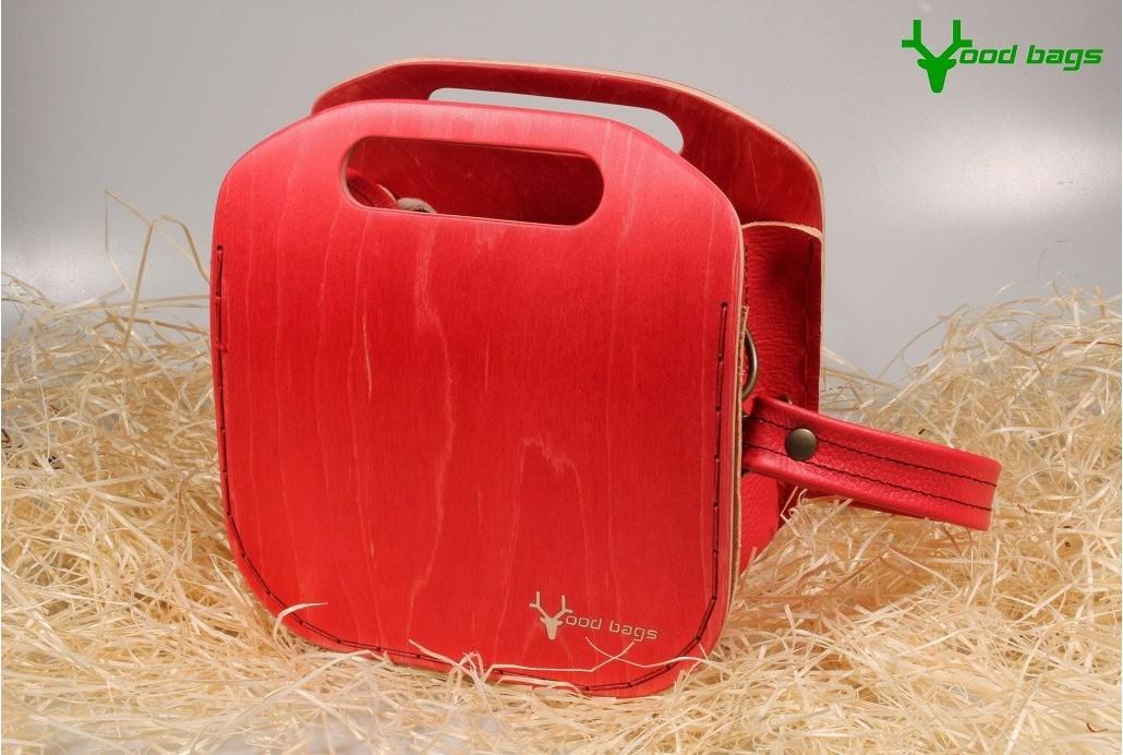 Rest art wear - Red holes - kabelka