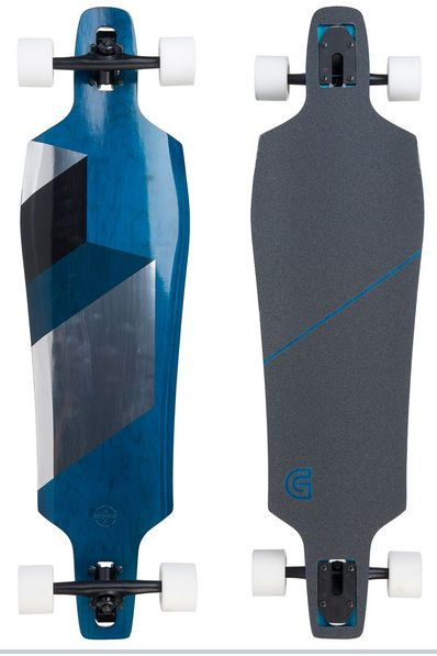 Goldcoast Matrix Blue - longboard