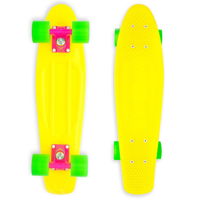 Baby Miller Yellow skateboard