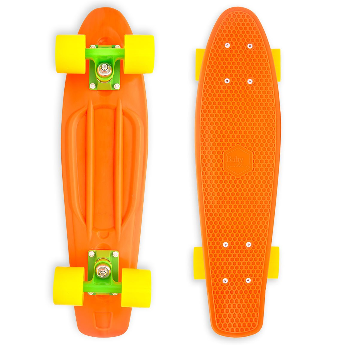 Baby Miller Orange skateboard