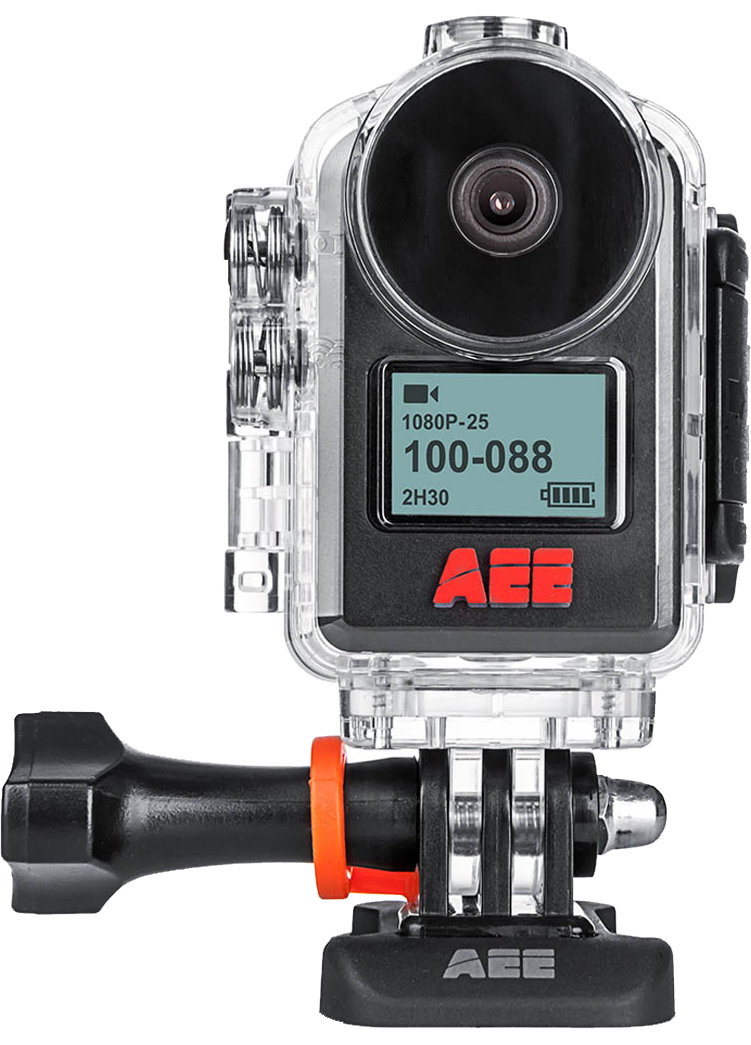 AEE MagiCam MD10 - sportovní kamera, On Board