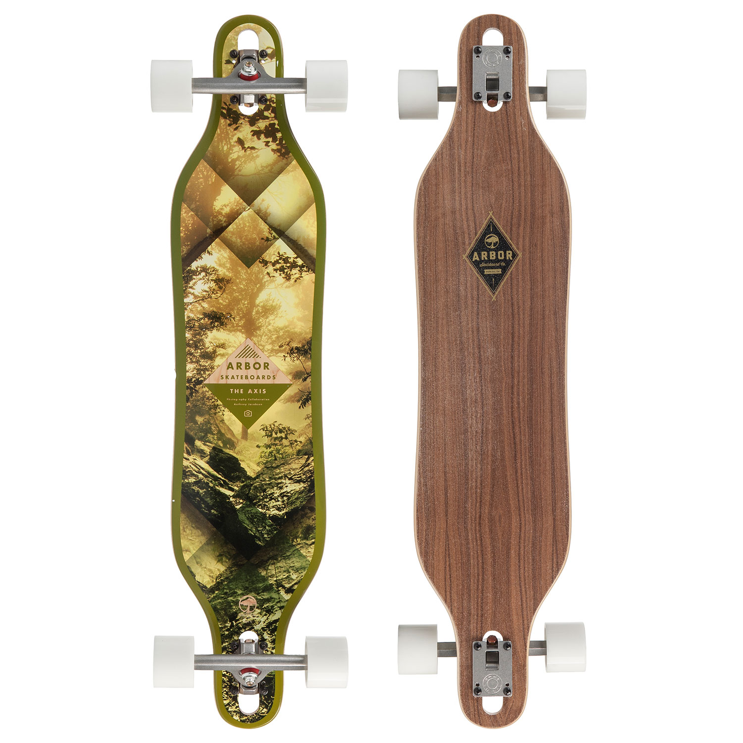 Arbor Axis Walnut- longboard