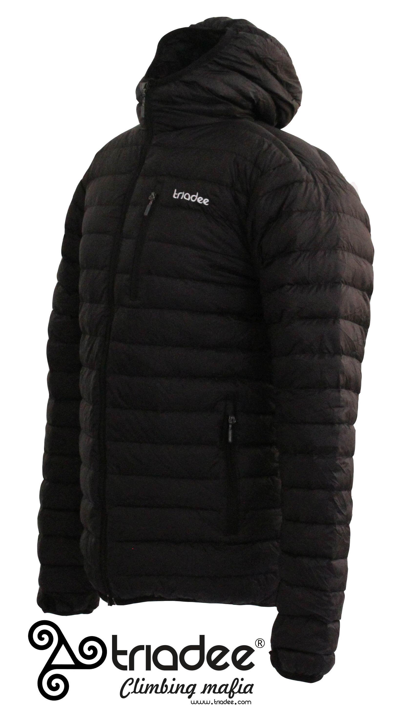 Triadee - black bro - pánská péřová bunda
