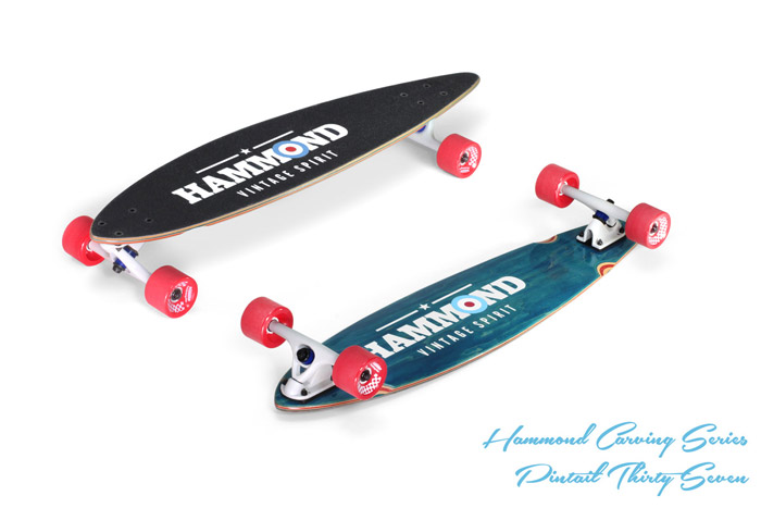 Hammond Longboards - Pintail 37 longboard