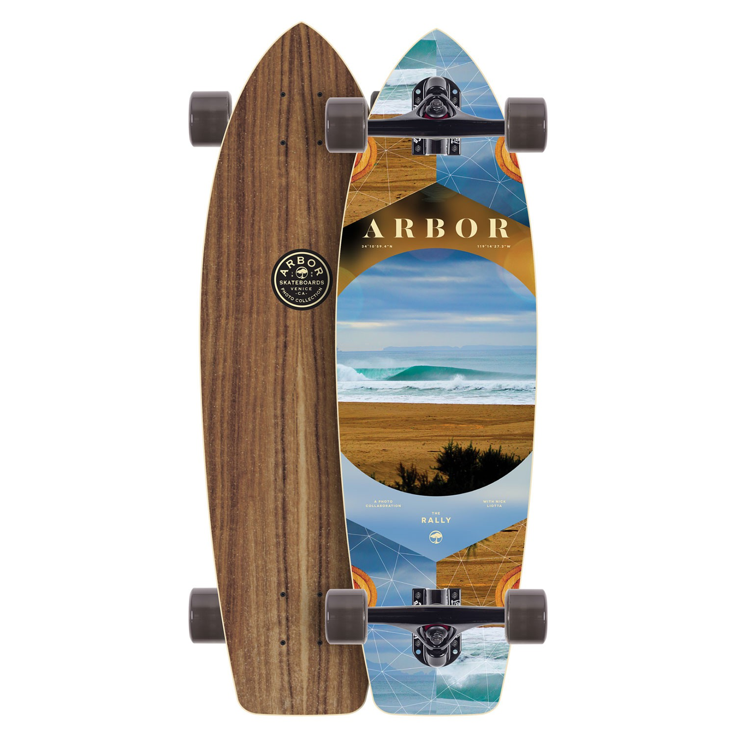 Arbor Rally PC - longboard