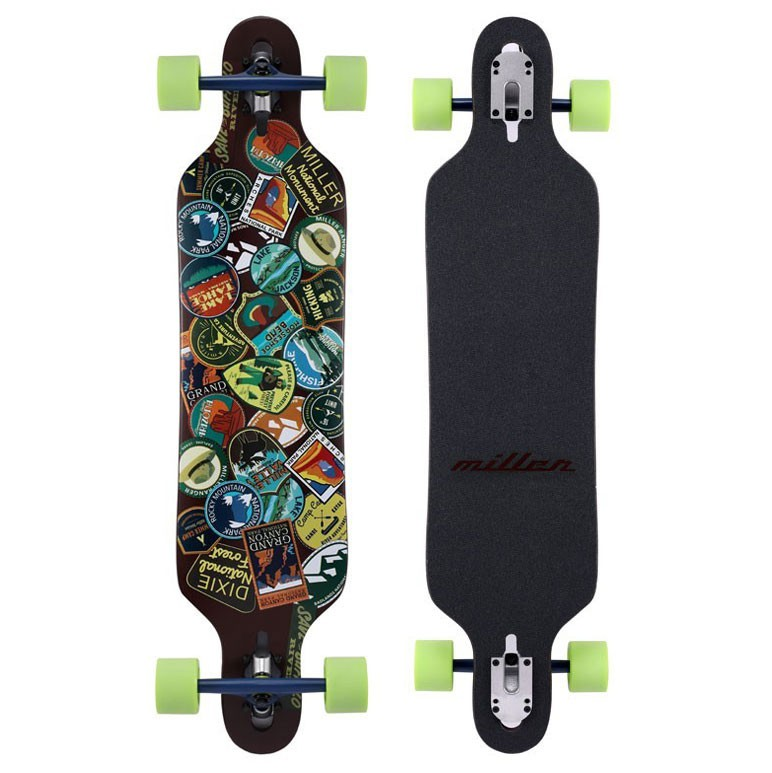 "Miller National Parks Stickers 38"" - longboard"