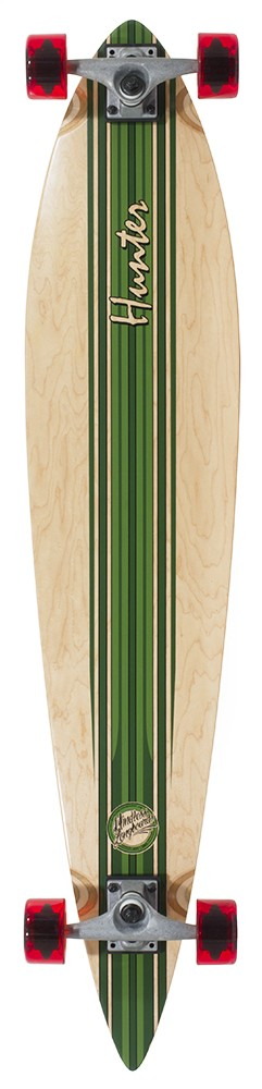 "Mindless - Hunter 44"" V3 Green- longboard"