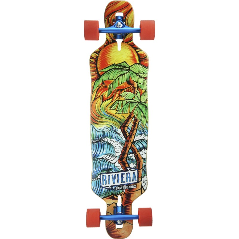 Riviera Twisted Palms -  longboard
