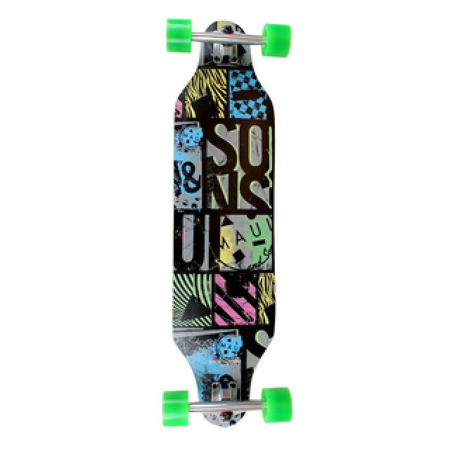 Maui Off The Grid Cutout - longboard