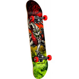 Powell Peralta Cab Dragon Storm Red/Lime - 7.75 - skateboard