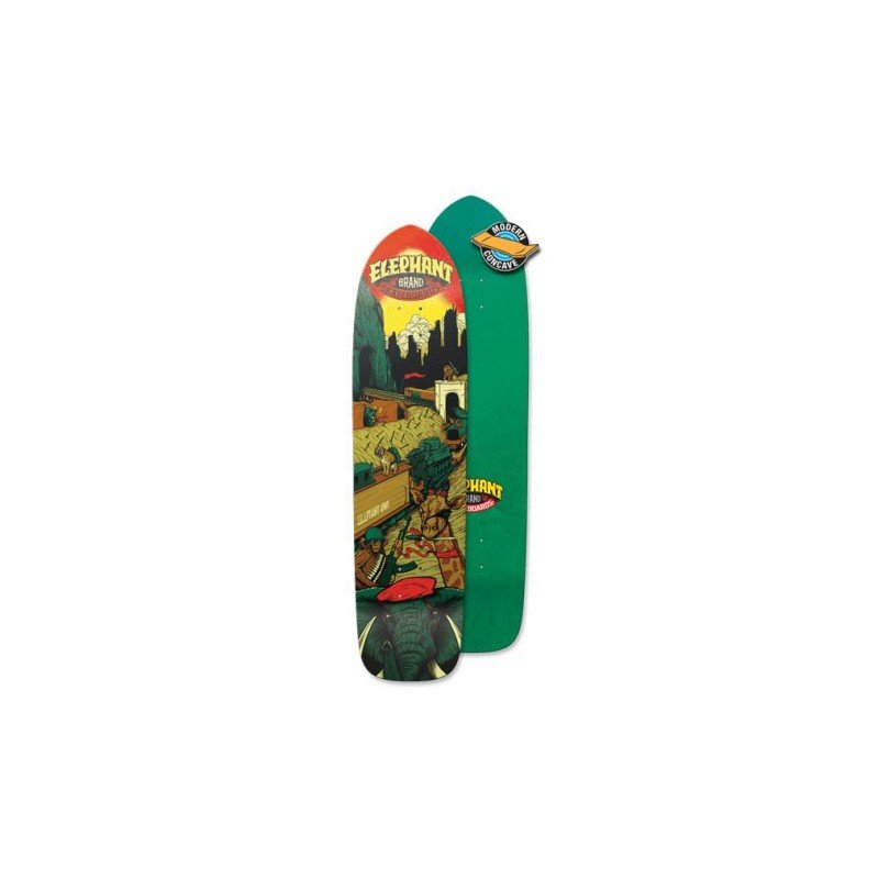 Elephant Army Train 9 - longboard deska