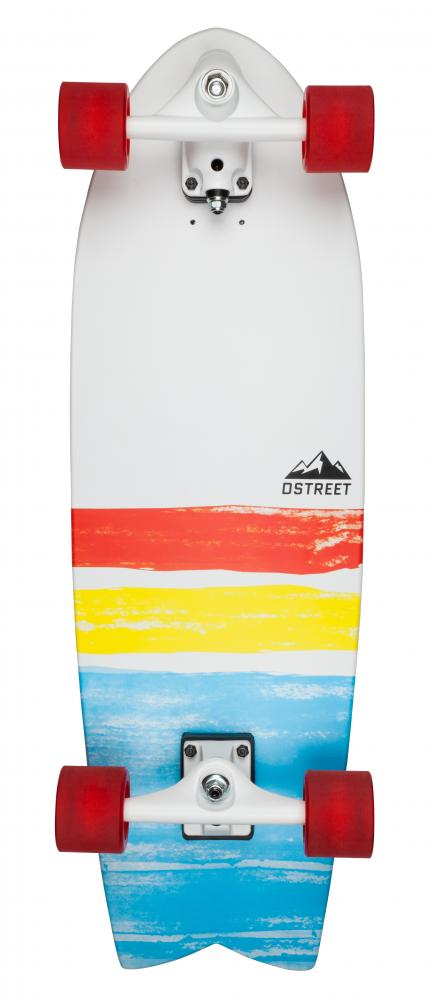D Street Surfskate Cut Back - surfskate