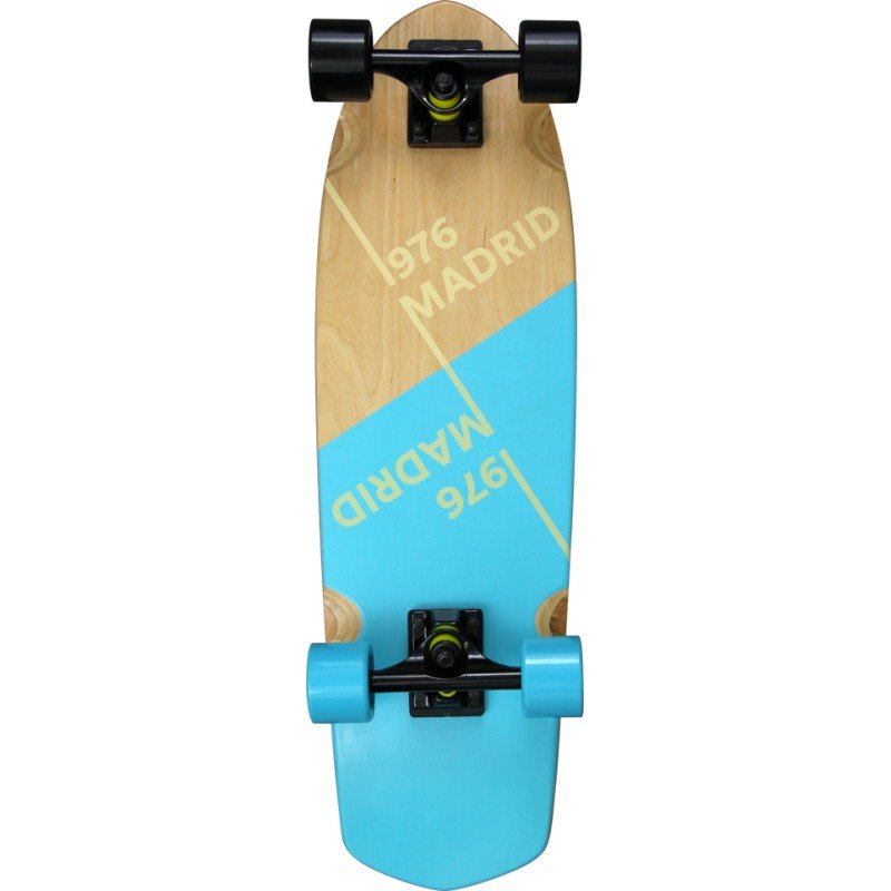 "Madrid Picket Slant Blue 28"" - longboard"