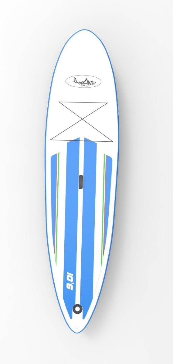 SHARK cross 10' paddleboard