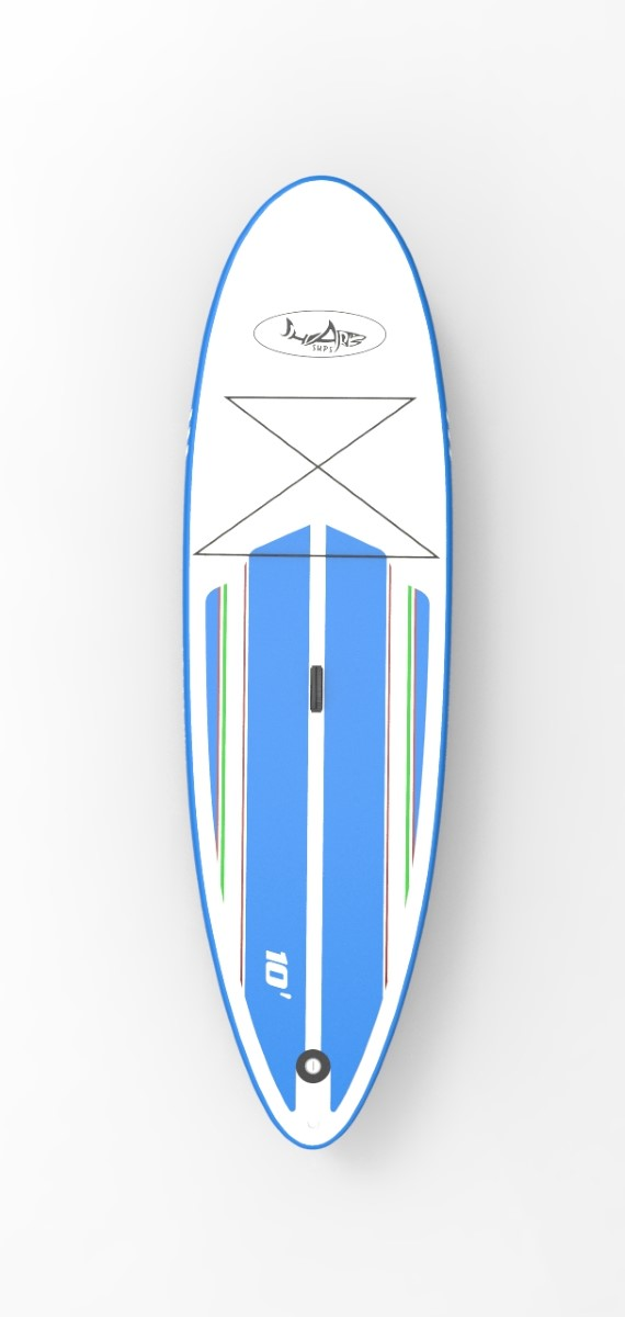 SHARK regular 10' paddleboard