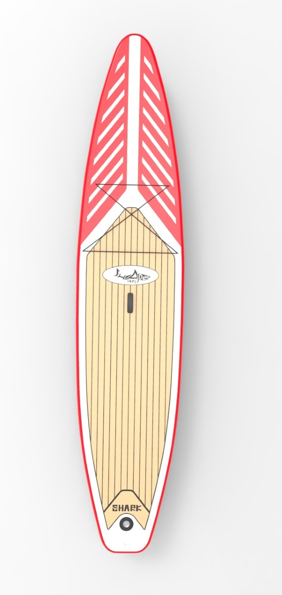 SHARK touring 12'6'' paddleboard