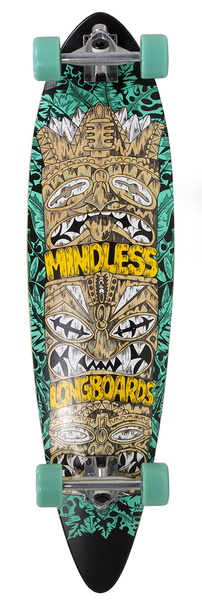 Mindless Tribal Rogue IV - teal - longboard