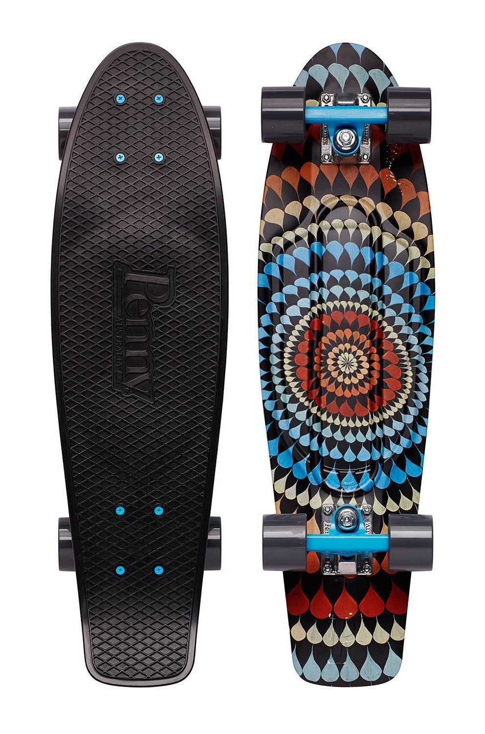 Penny - Graphic Nickel 27 - Ripple - penny boards