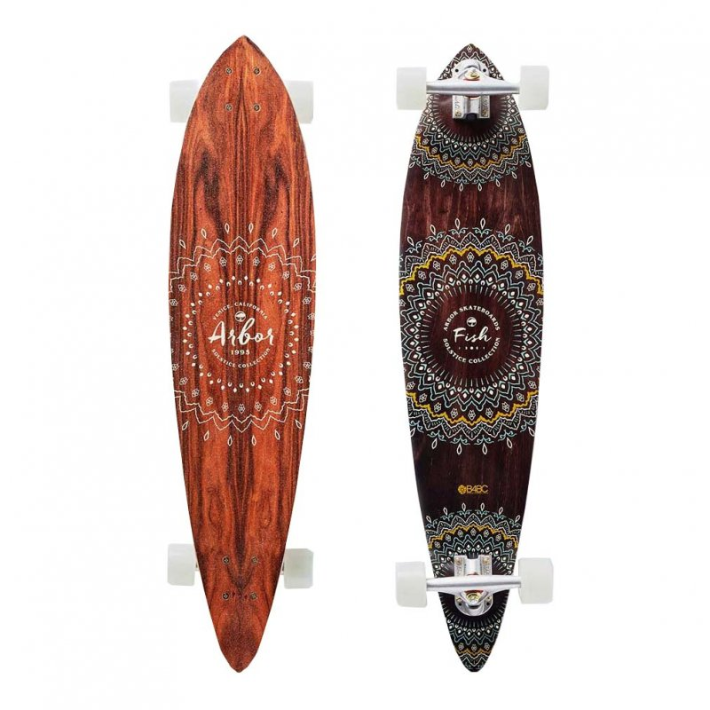 Arbor Fish Solstice Collection 37- longboard