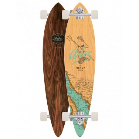 Arbor Fish Groundswell Series 'Mermaid' 37- longboard