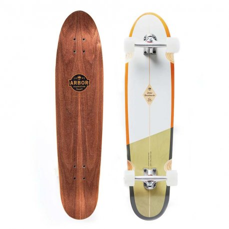 Arbor Bug Foundation Series White/Green 36 - longboard