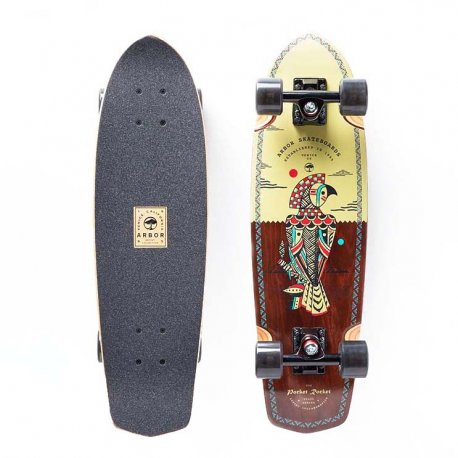 Arbor Pocket Rocket Artist Collection 'Hablak' 27 - longboard
