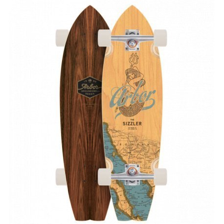 "Arbor Sizzler Groundswell Series 'Mermaid' 31""- longboard"