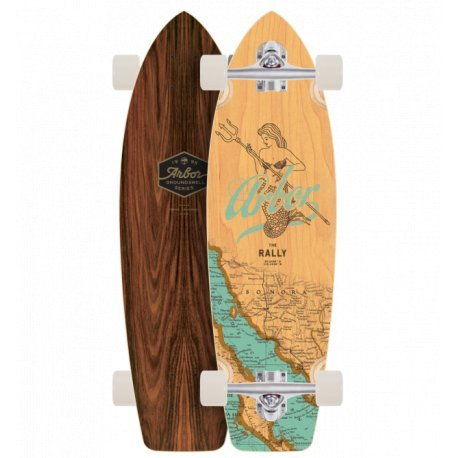 "Arbor Rally Groundswell Series 'Mermaid' 30.5""- longboard"