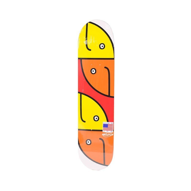 Hosoi Gonz Fish Head Mini Orange/Yellow 7.125 - skate deska