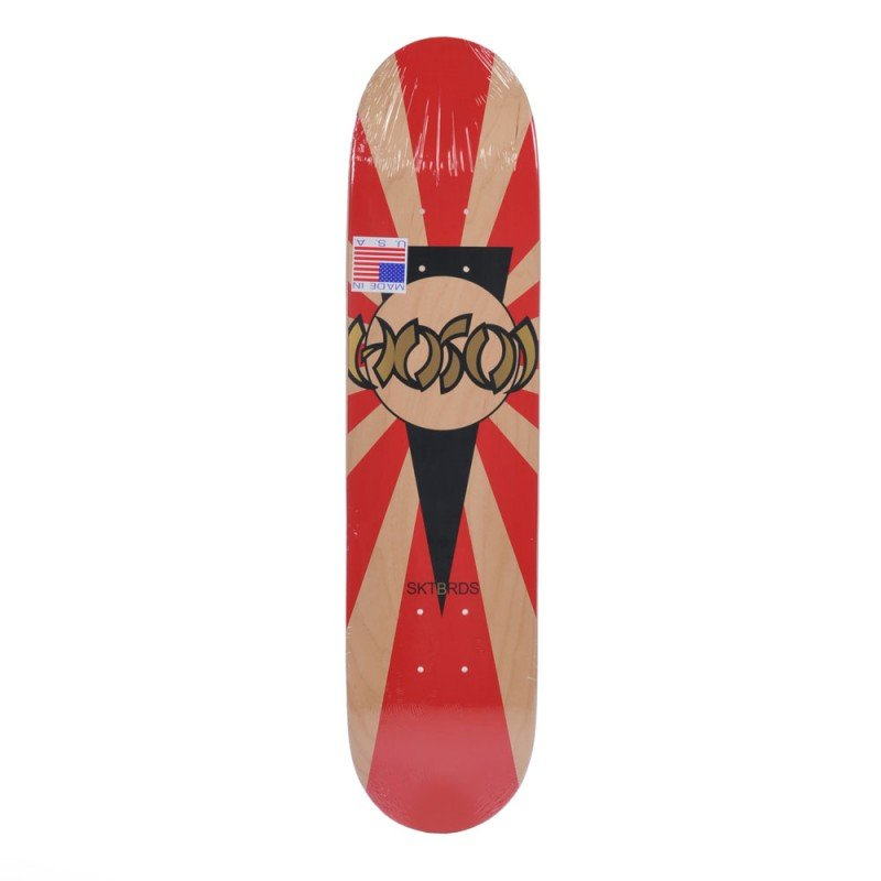 "Hosoi Rising Sun Mini Red 7.125"" - skate deska"
