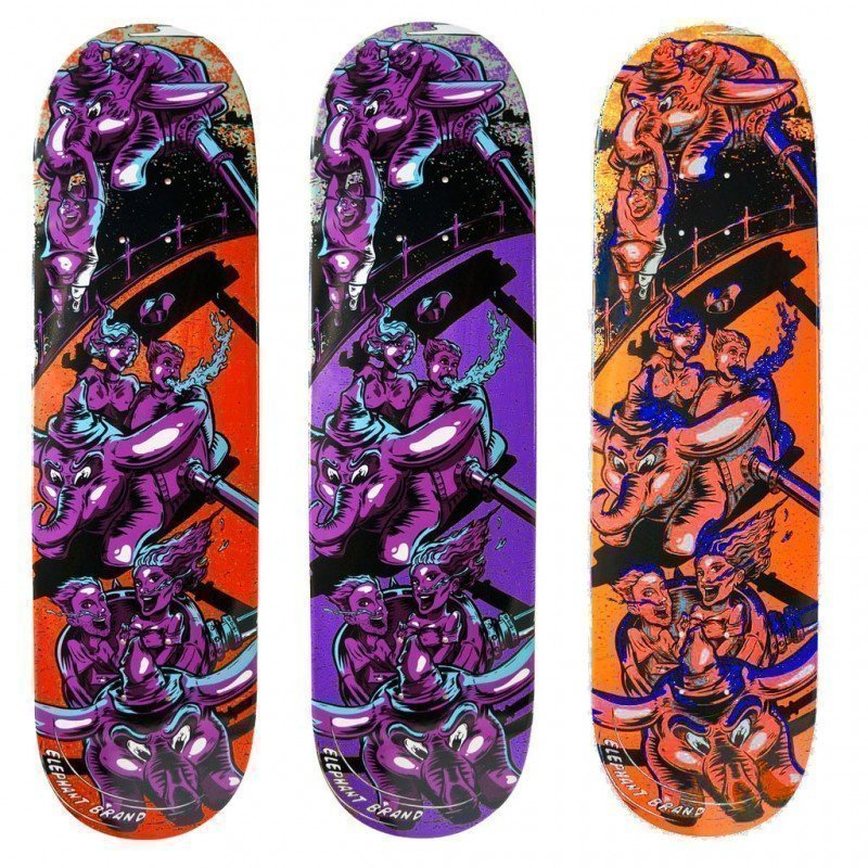 "Elephant The Ride 8"" - skate deska"