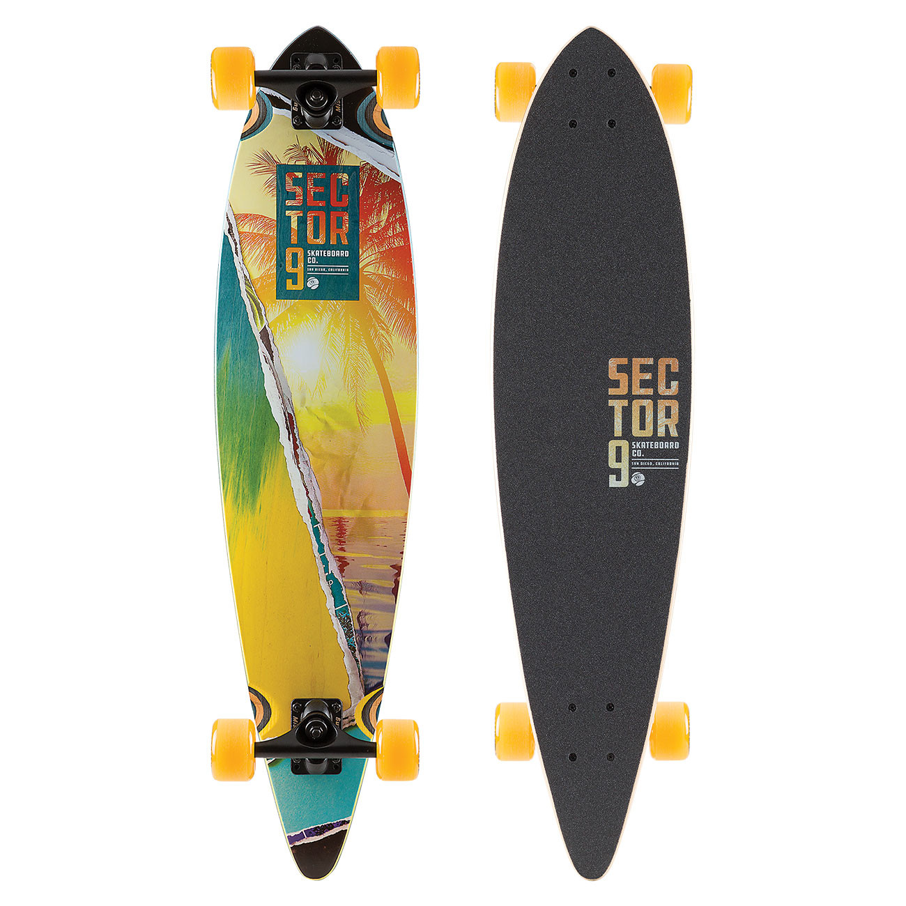 Longboard Sector 9 Vista Ripple 36""