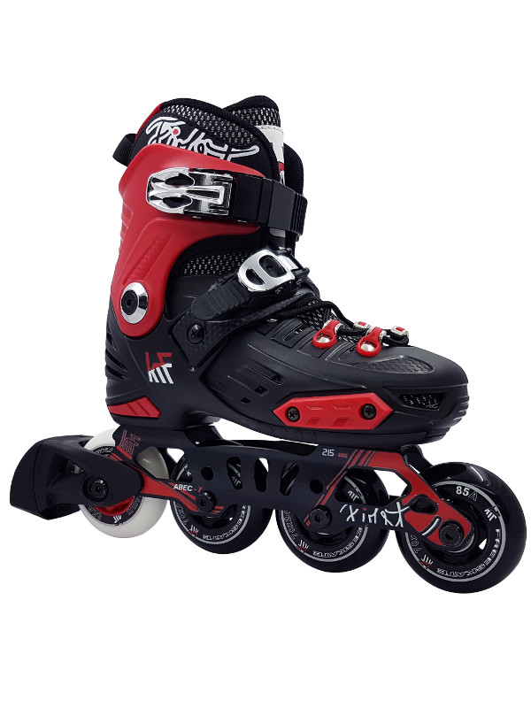 KRF FREESKATE New First Red INLINE  SKATE - nastavitelné in-line brusle