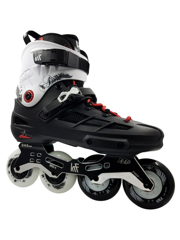 KRF FREESKATE Angel NEW Black White Inline Skate