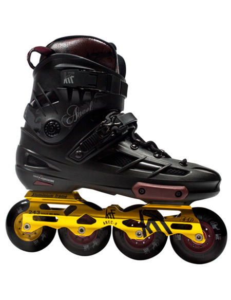 KRF FREESKATE Angel Black Inline Skate