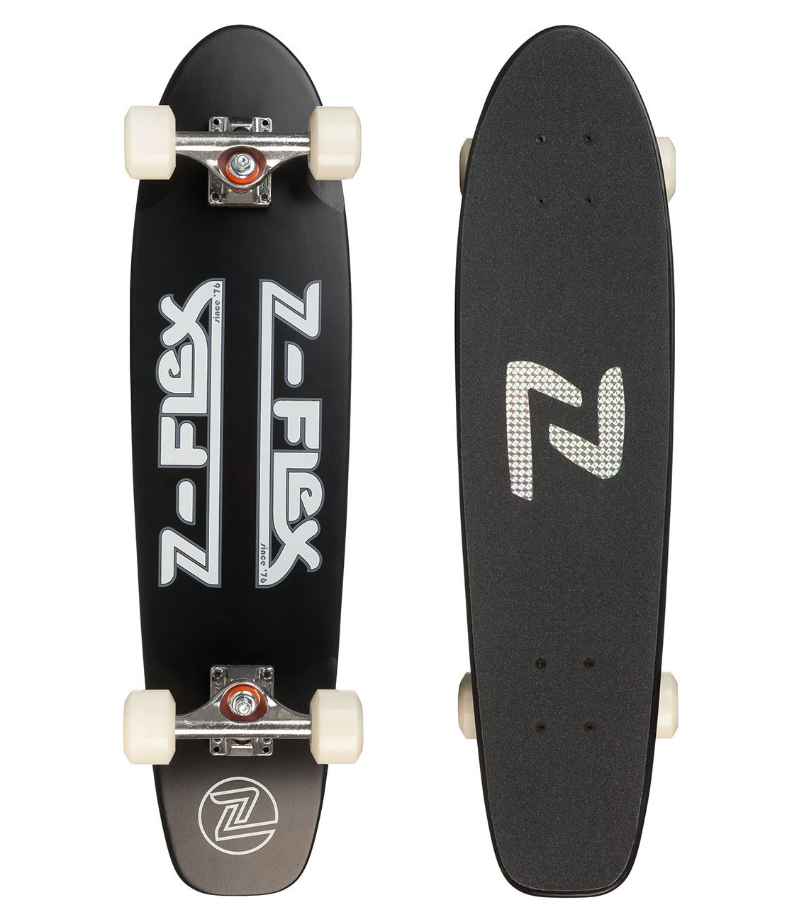 "Z-Flex - Cruiser 29"" Black & White - Longboard Cruiser"