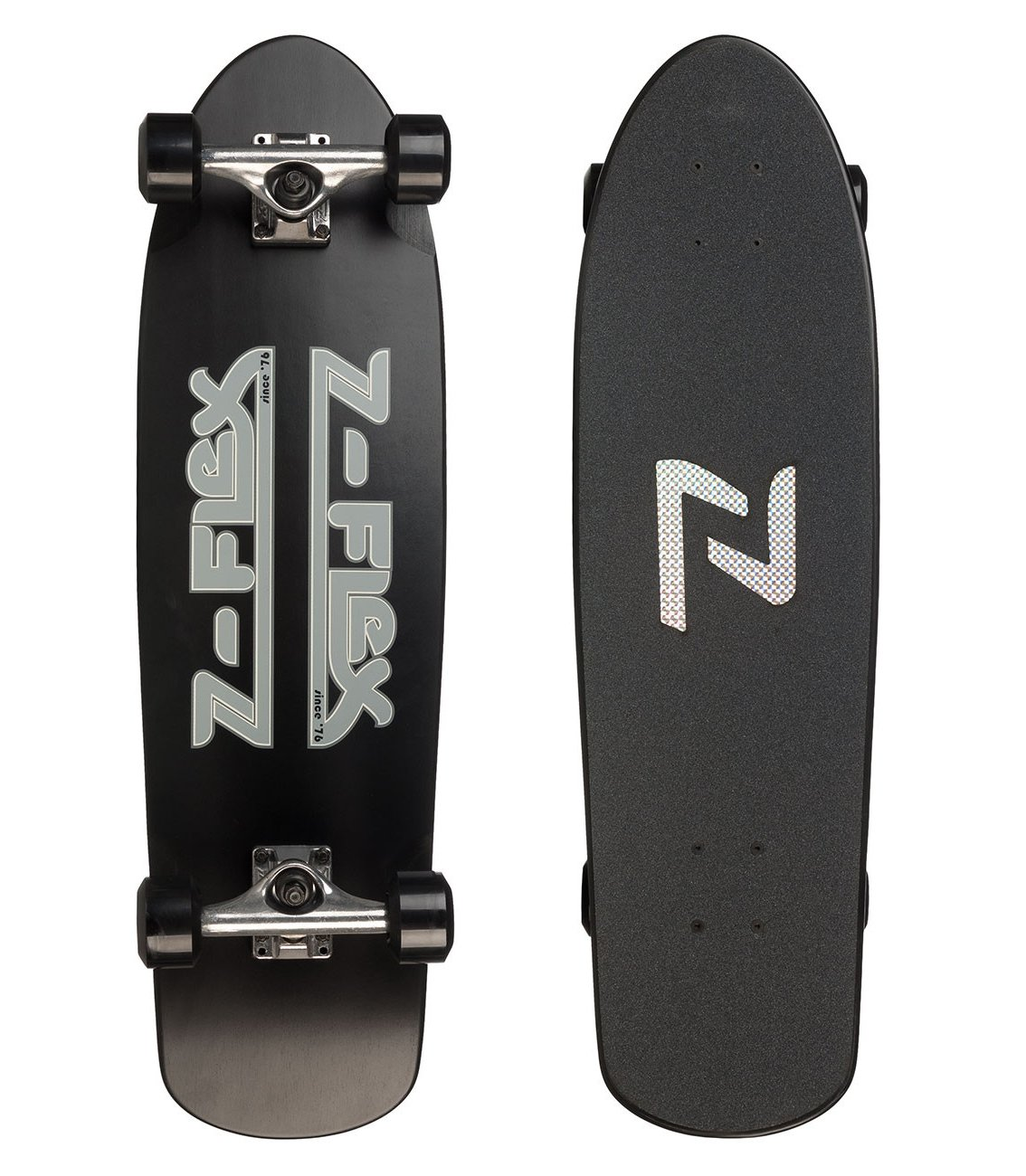 "Z-Flex - Cruiser 30"" Black - Longboard Cruiser"